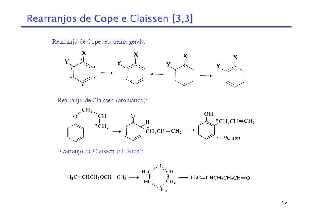 Rearranjos de Cope e Claissen [3,3]